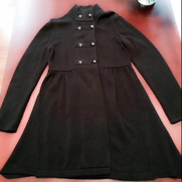 Style & Co Jackets & Blazers - Black Sweater Coat Size M